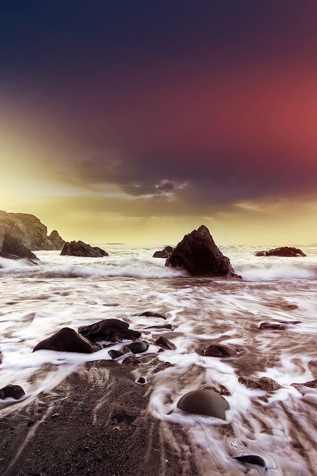 freeios7.com-iphone-4-iphone-5-ios7-wallpapermo64-wave-ocean-beach-red-owen-walters-flare-nature-iphone4