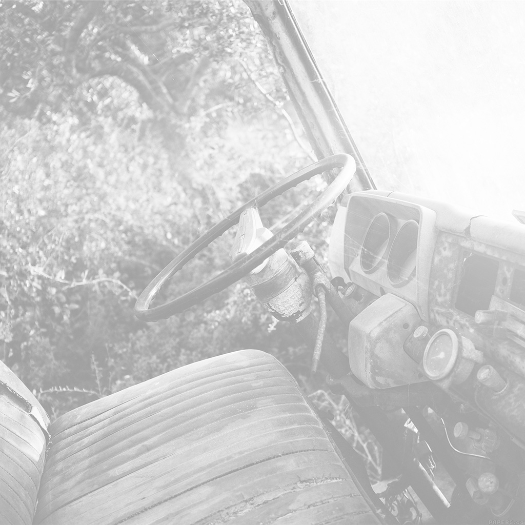 android-wallpaper-mo68-old-car-forest-vintage-white-nature-carl-kadysz-wallpaper