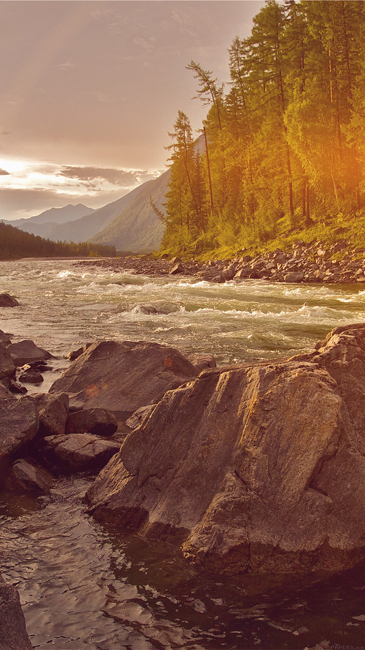 iPhonepapers.com-Apple-iPhone-wallpaper-mp28-mountain-river-lake-flare-nature-summer-camp
