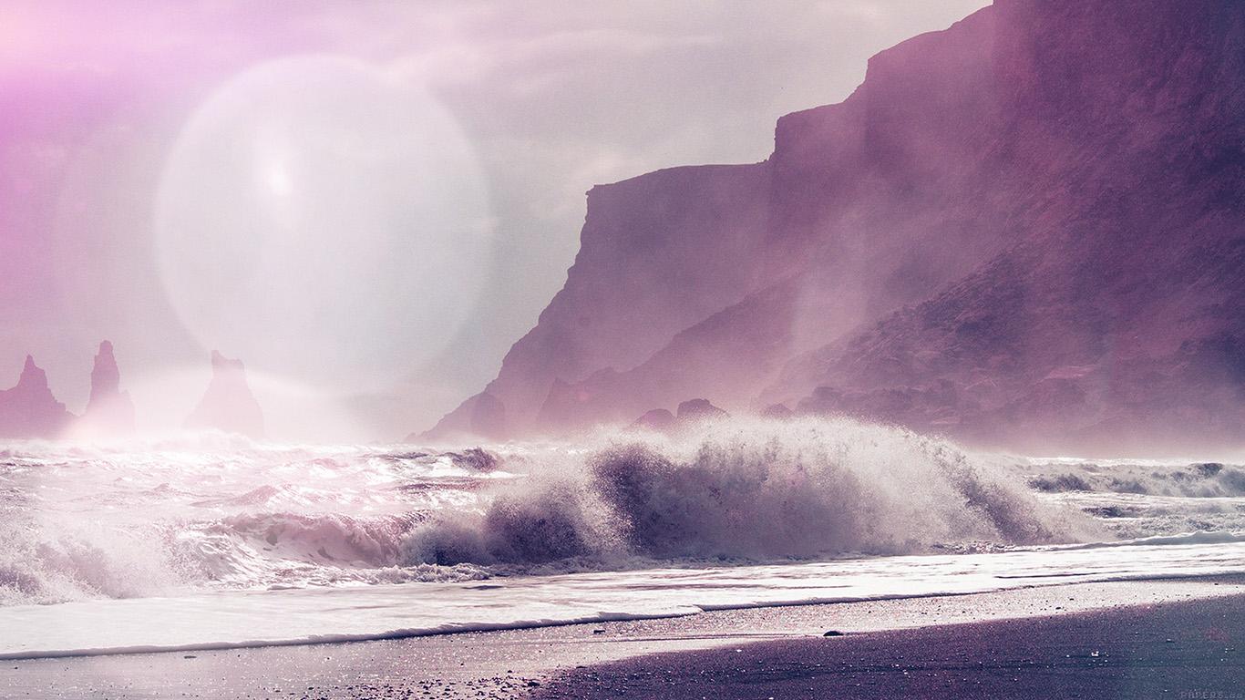desktop-wallpaper-laptop-mac-macbook-air-mp58-sea-beach-nature-purple-flare-wallpaper
