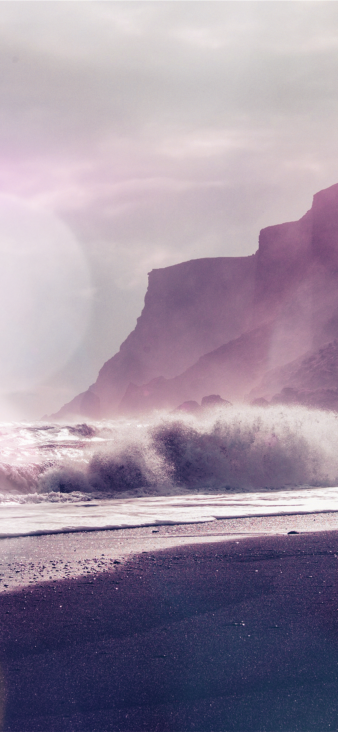 iPhoneXpapers.com-Apple-iPhone-wallpaper-mp58-sea-beach-nature-purple-flare