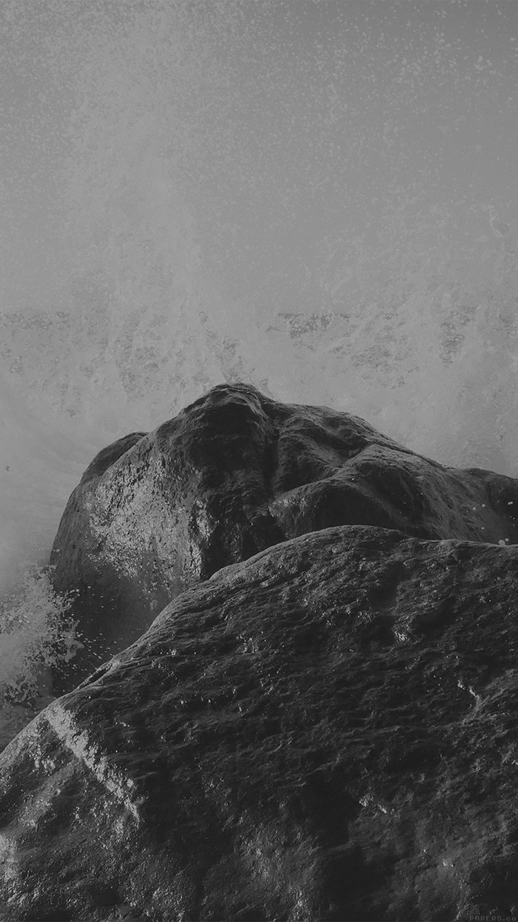 iPhone6papers.co-Apple-iPhone-6-iphone6-plus-wallpaper-mp66-justin-leibow-sea-wave-rock-beach-black-bw-nature