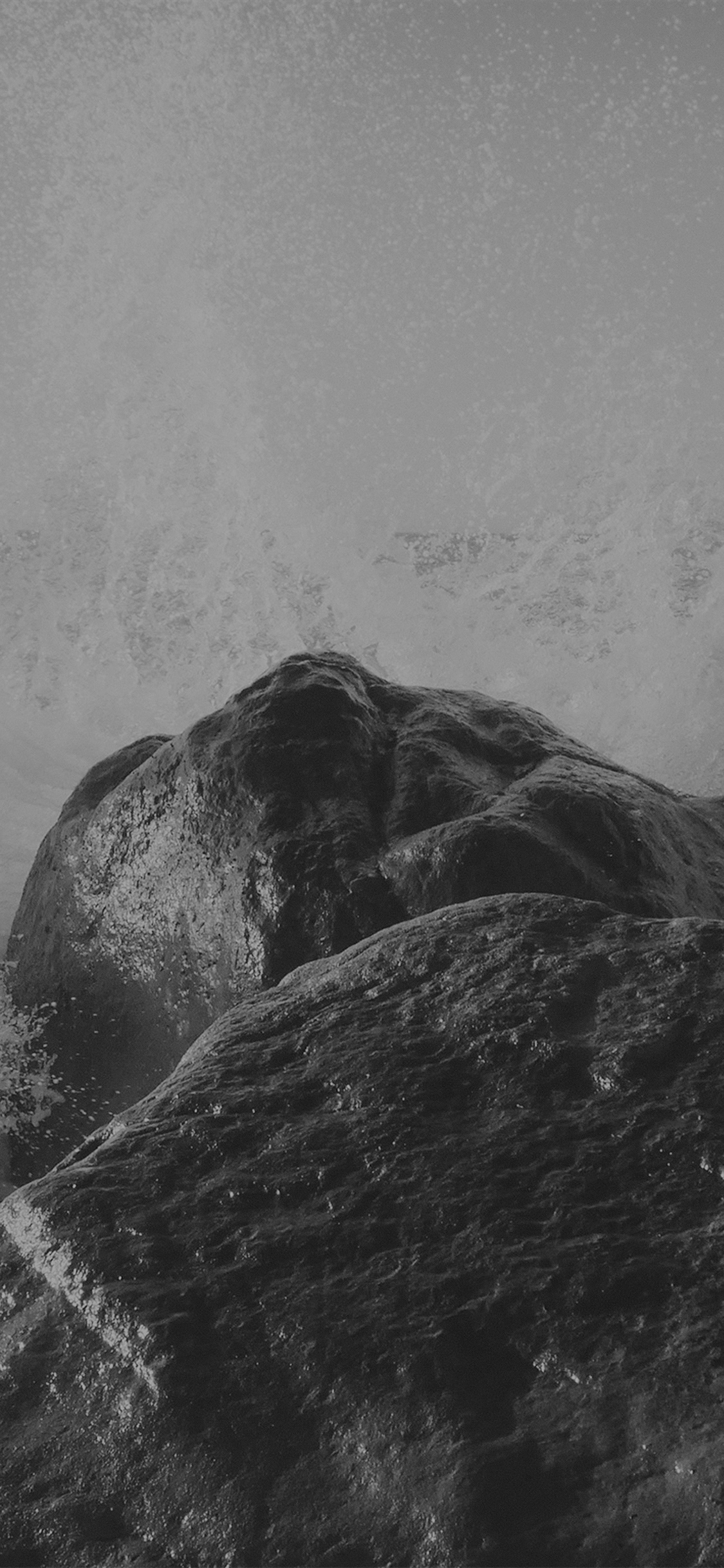 iPhonexpapers.com-Apple-iPhone-wallpaper-mp66-justin-leibow-sea-wave-rock-beach-black-bw-nature