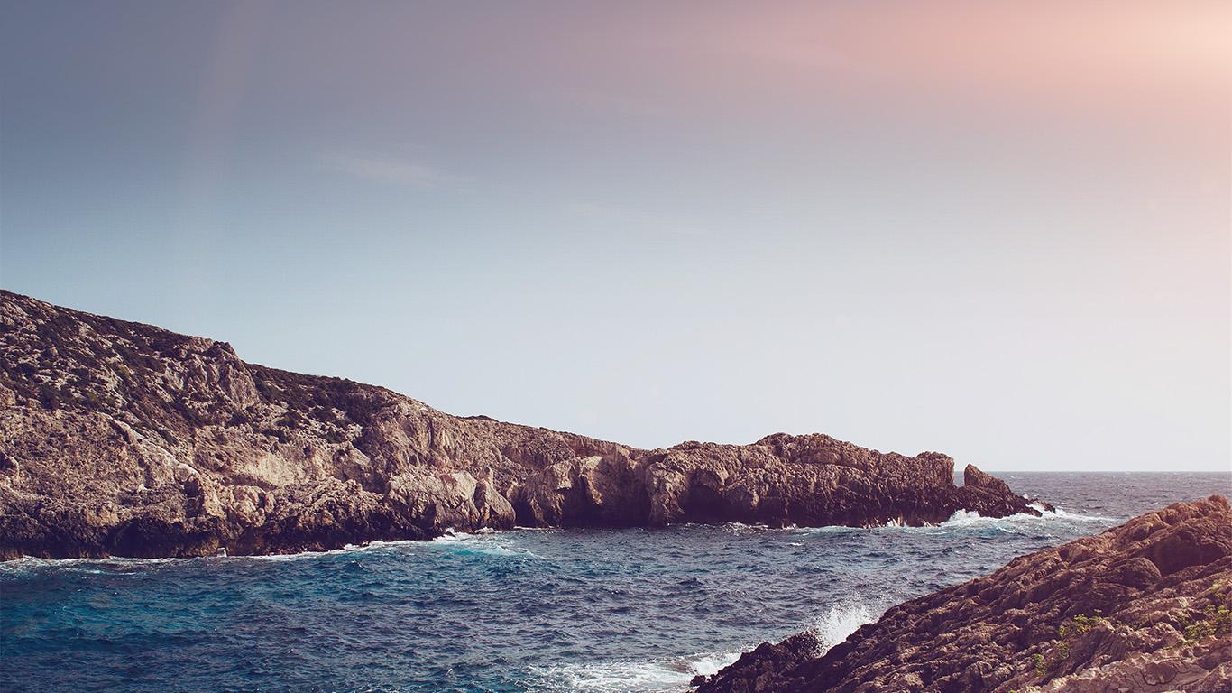 desktop-wallpaper-laptop-mac-macbook-air-mp92-one-sunny-day-beach-rock-sea-nature-flare-wallpaper