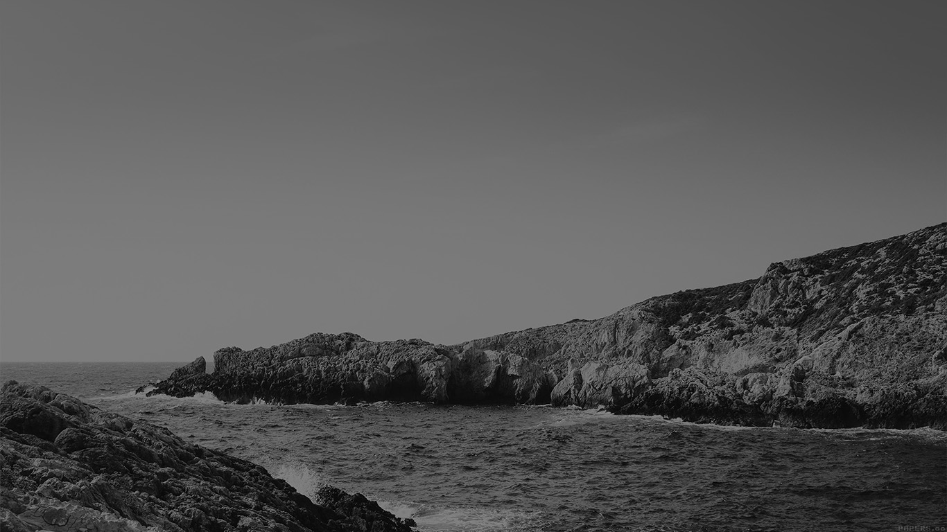 desktop-wallpaper-laptop-mac-macbook-air-mp94-one-sunny-day-beach-rock-sea-nature-black-bw-wallpaper