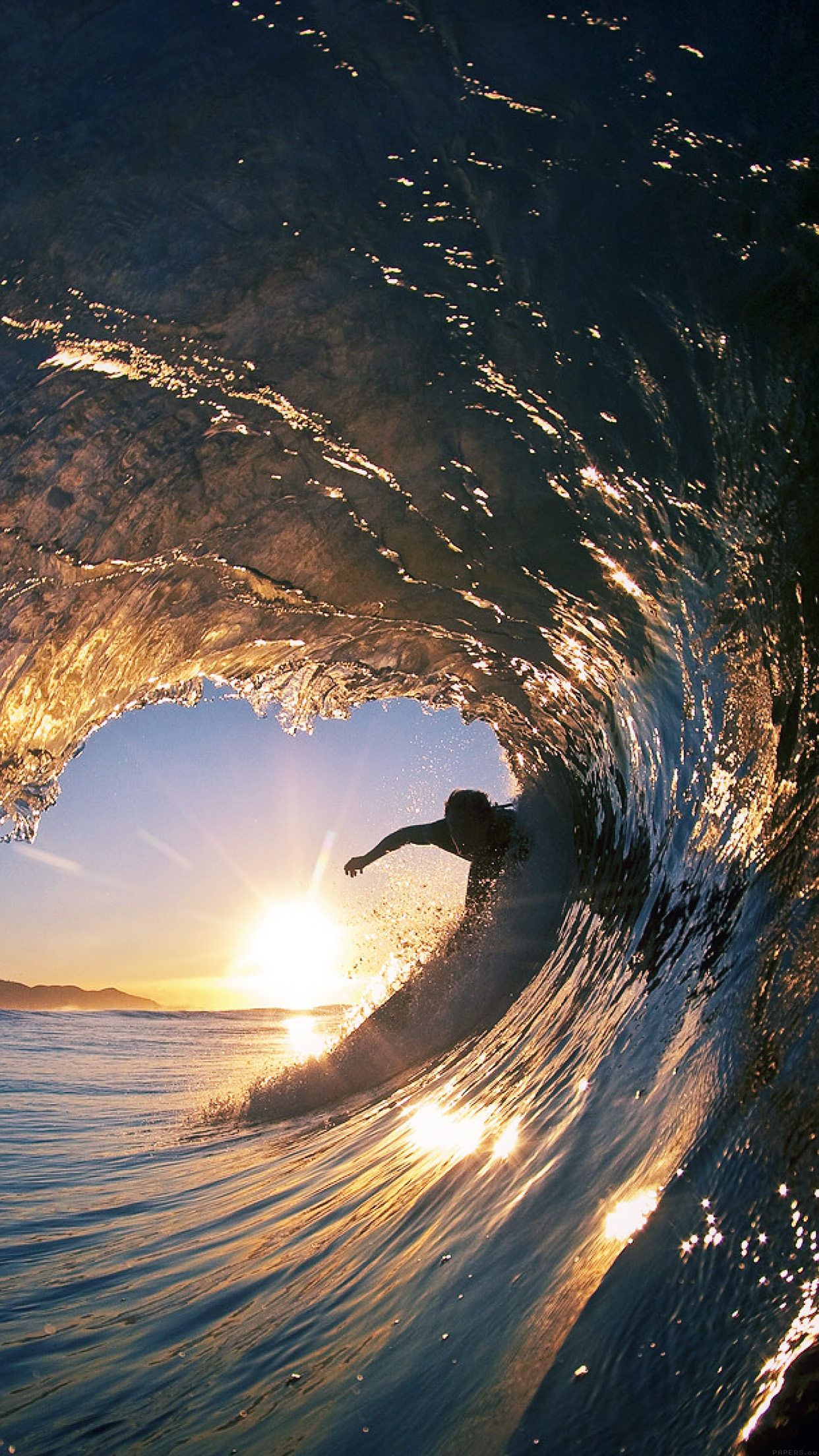 Iphone6papers Mq06 Surf Wave Sea Nature Sunshine