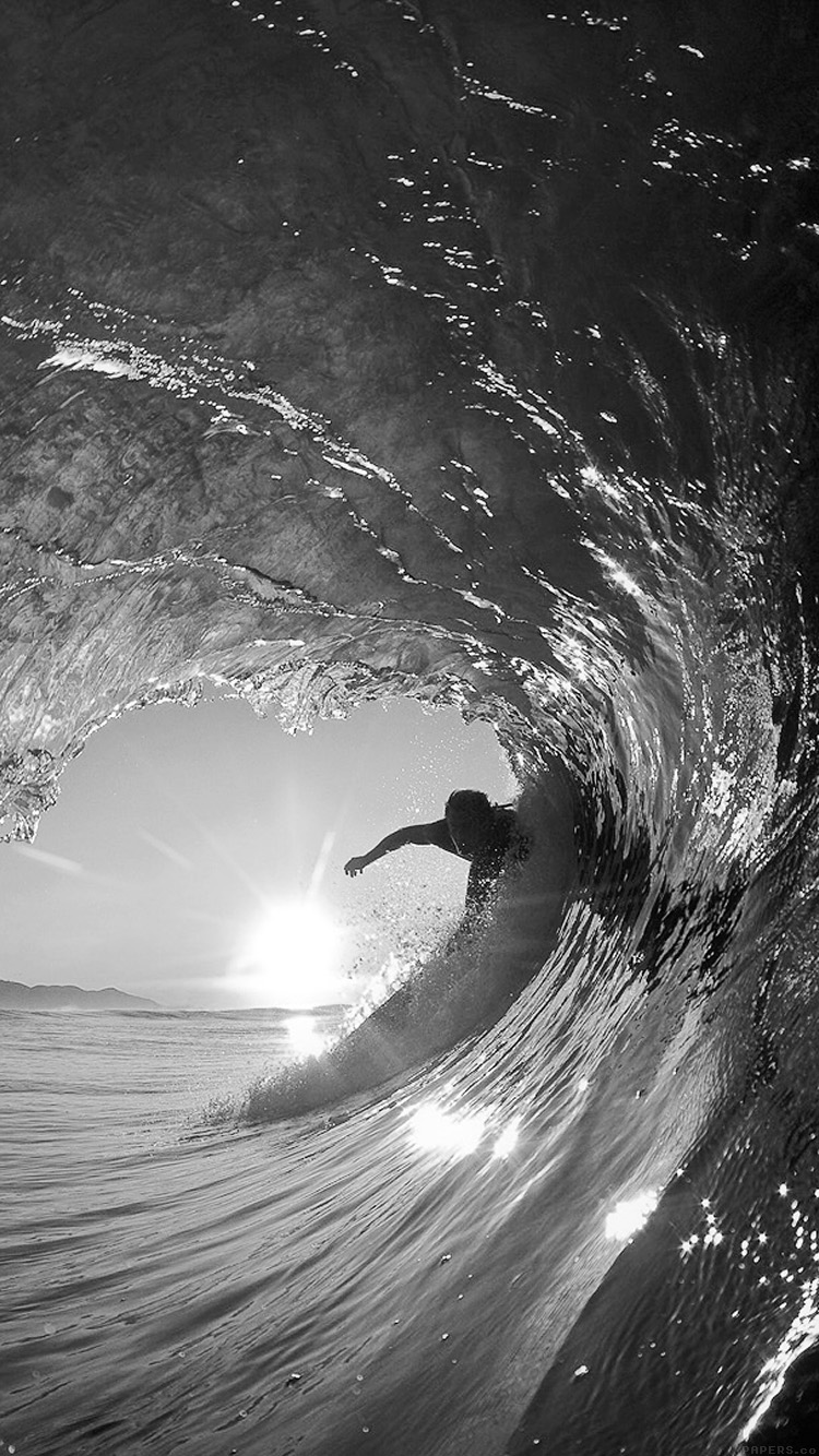 iPhonepapers.com-Apple-iPhone-wallpaper-mq07-surf-wave-sea-nature-sunshine-bw-dark