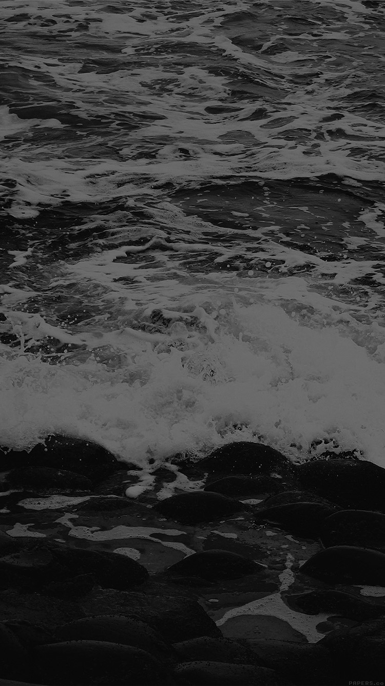 iPhone6papers.co-Apple-iPhone-6-iphone6-plus-wallpaper-mq69-wave-ocean-beach-lake-nature-stone-bw-dark