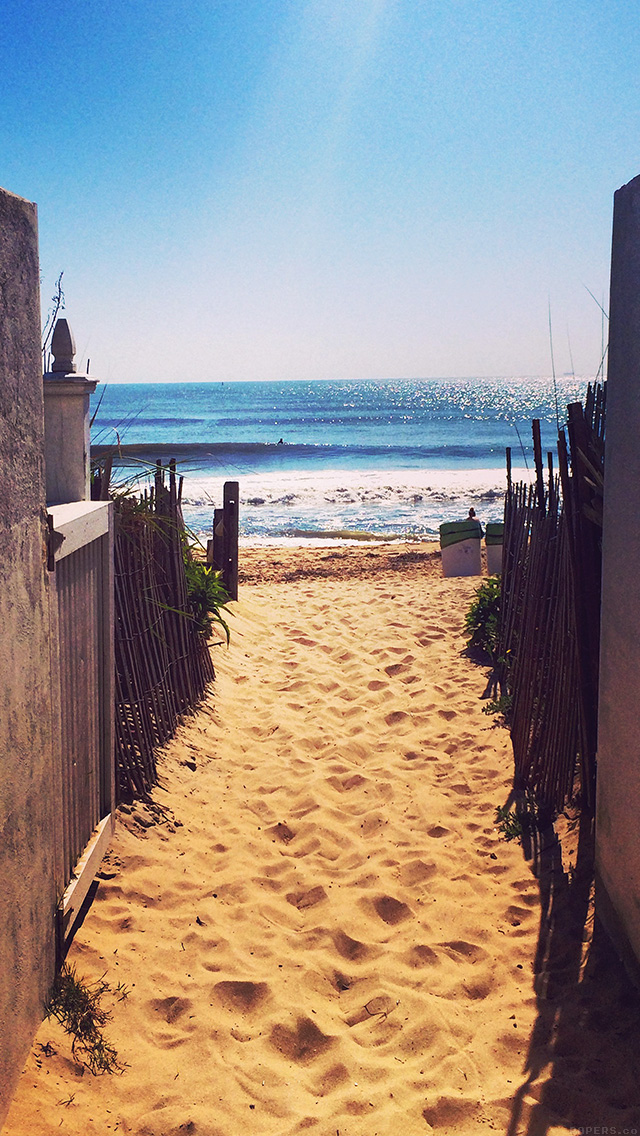 freeios8.com-iphone-4-5-6-plus-ipad-ios8-mq82-way-to-sea-sand-ocean-beach-nature