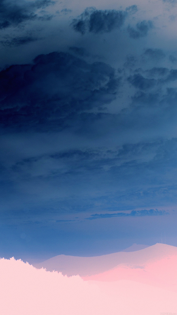 iPhonepapers.com-Apple-iPhone-wallpaper-mq92-the-end-sunrise-sky-cloud-shine-nature-blue