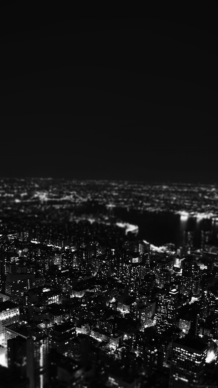 iPhone7papers.com-Apple-iPhone7-iphone7plus-wallpaper-mr00-dark-bw-night-city-building-skyview