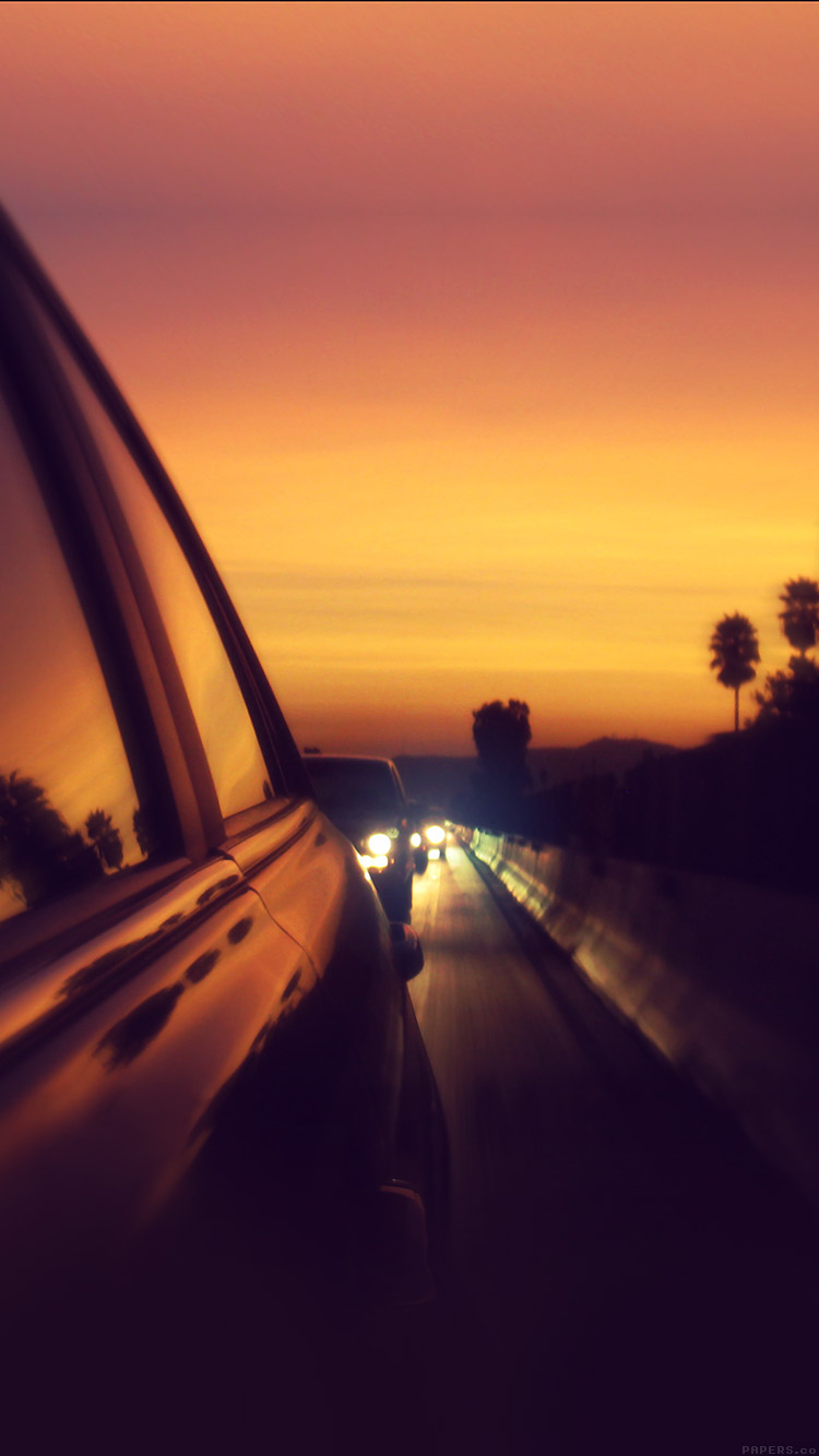 iPhone6papers.co-Apple-iPhone-6-iphone6-plus-wallpaper-mr03-drive-way-sunset-city-highway-car