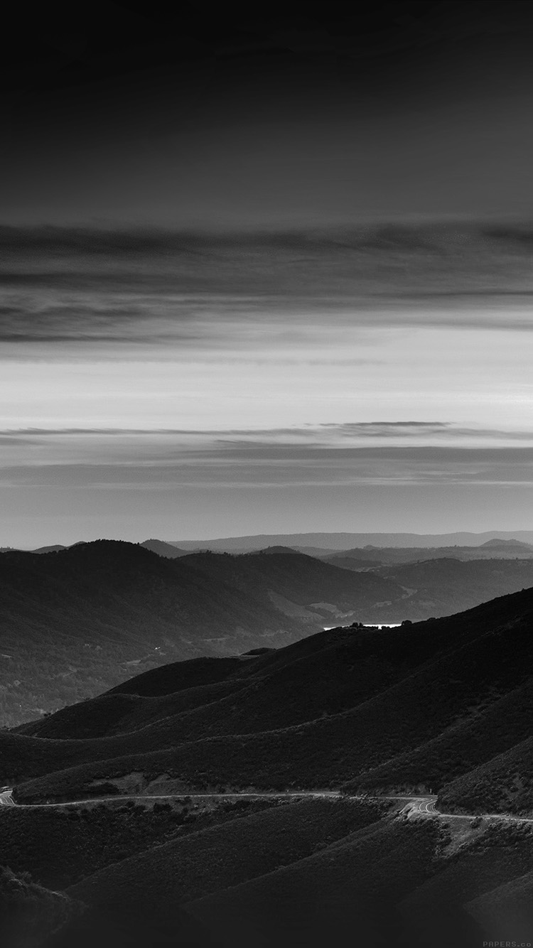 iPhone6papers.co-Apple-iPhone-6-iphone6-plus-wallpaper-mr29-road-curve-mountain-sunset-nature-lovely-bw-dark