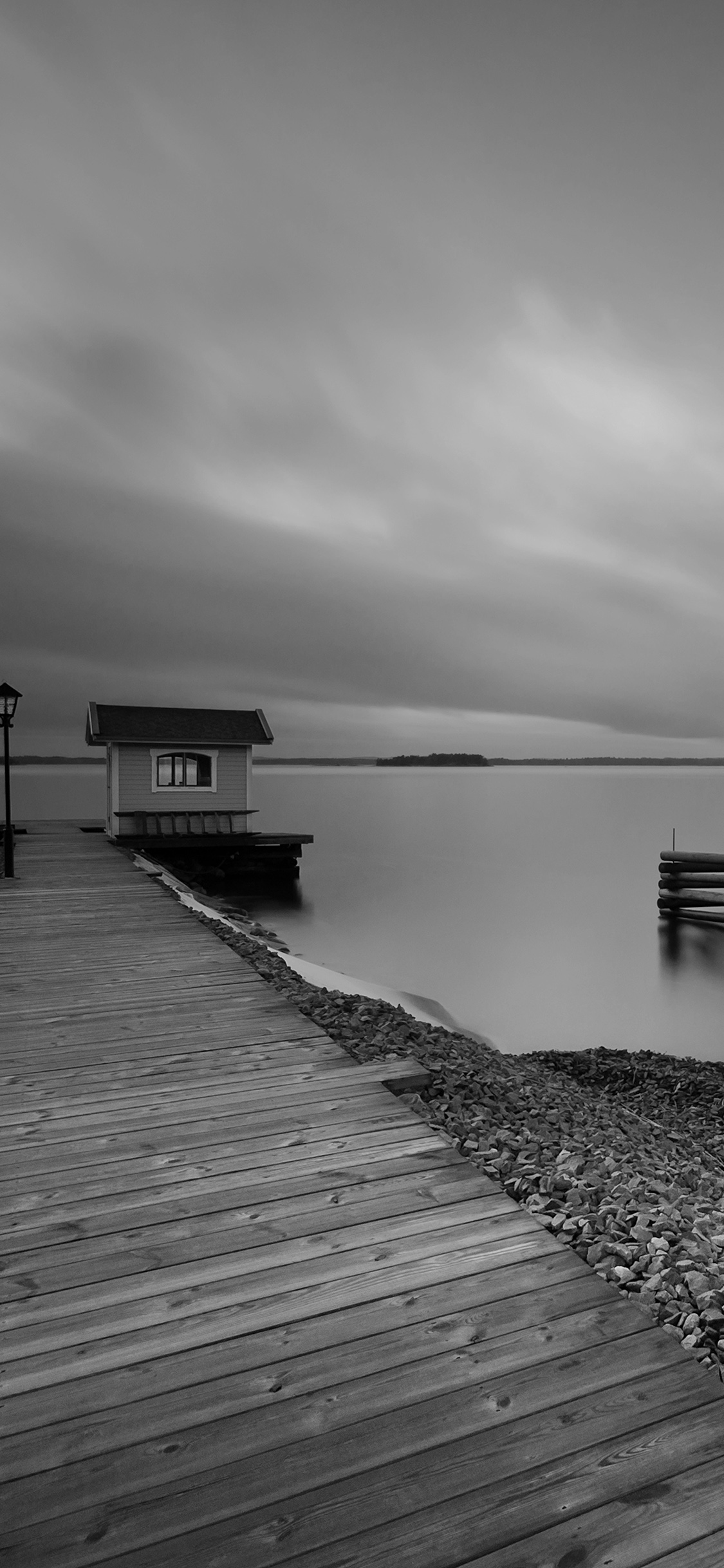 iPhonexpapers.com-Apple-iPhone-wallpaper-mr38-lake-calm-nature-beautiful-sea-water-road-dark