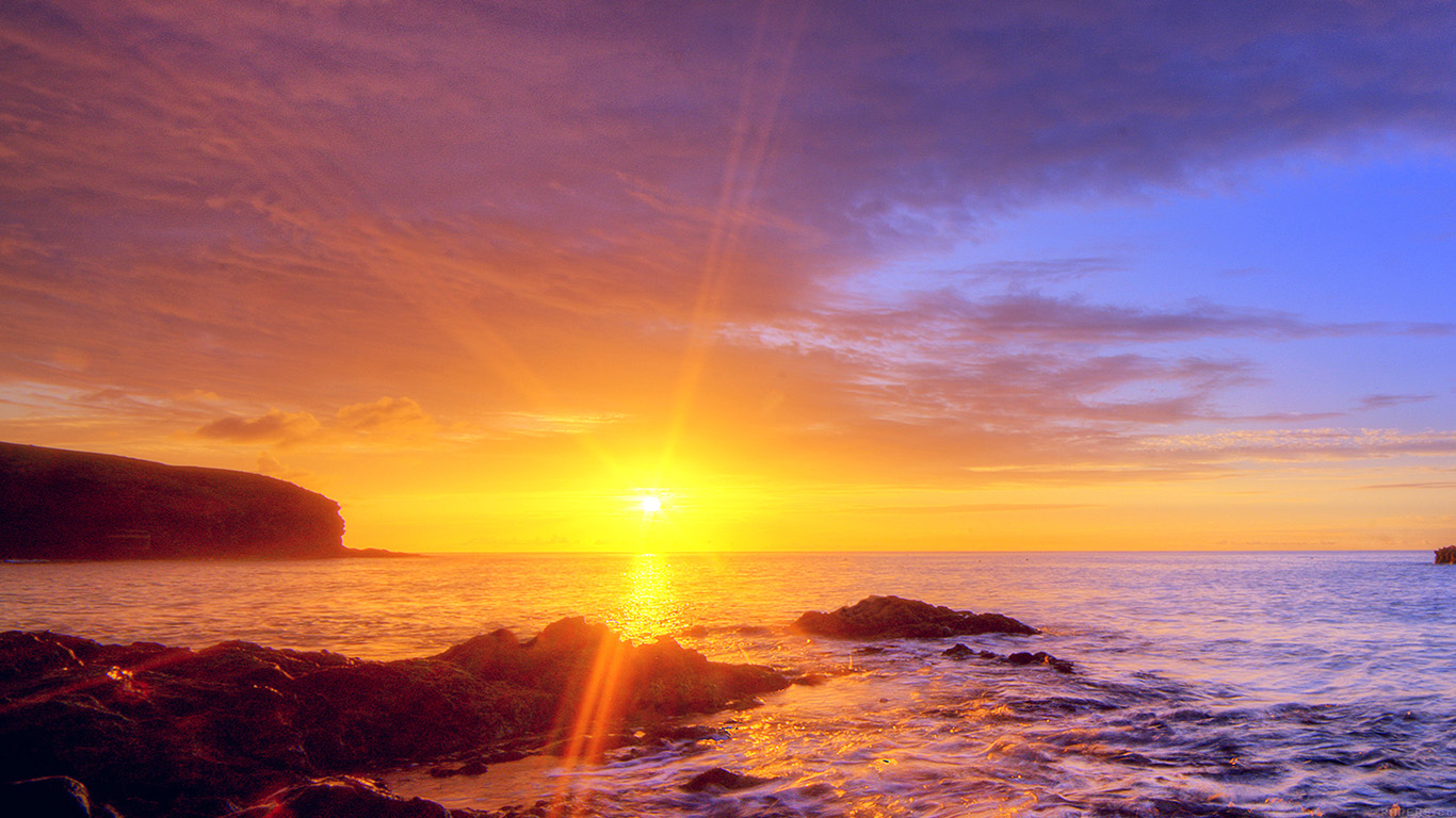 wallpaper-desktop-laptop-mac-macbook-mr40-sunshine-evening-sunset-beach-rock-nature-wallpaper