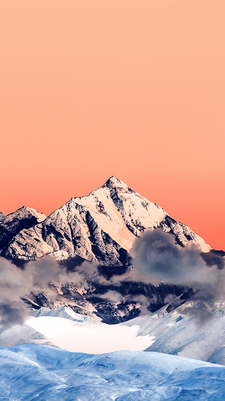 iPhone6papers.co-Apple-iPhone-6-iphone6-plus-wallpaper-mr58-snow-solo-orange-mountain-high-nature