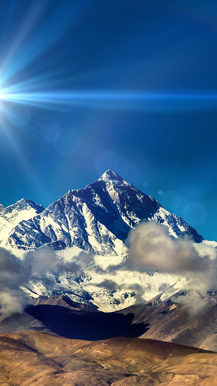 iPhone6papers.co-Apple-iPhone-6-iphone6-plus-wallpaper-mr59-snow-solo-mountain-high-nature-blue-flare