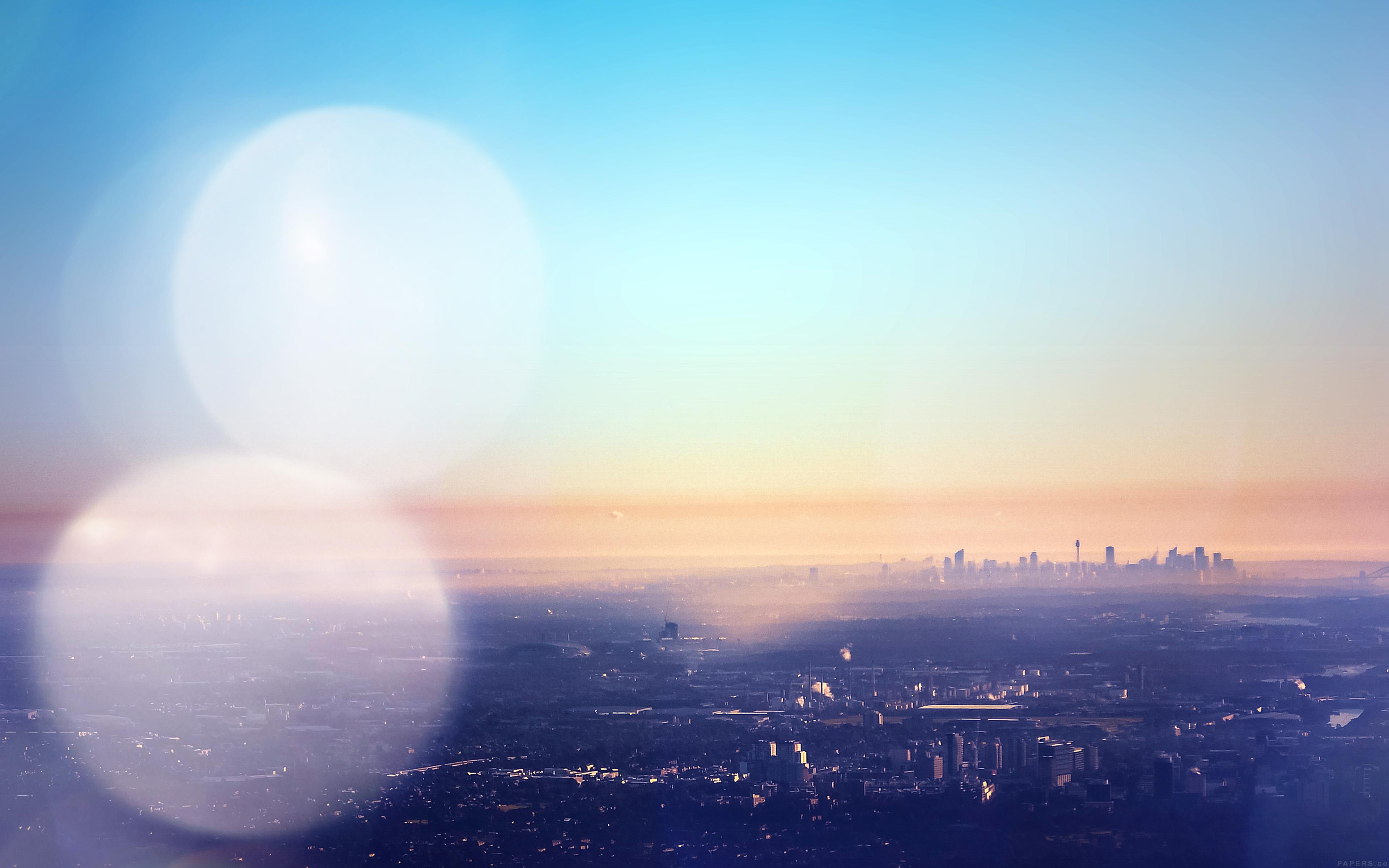 I Love Papers Mr68 Australia Capital City Blue View Sky Nature Flare