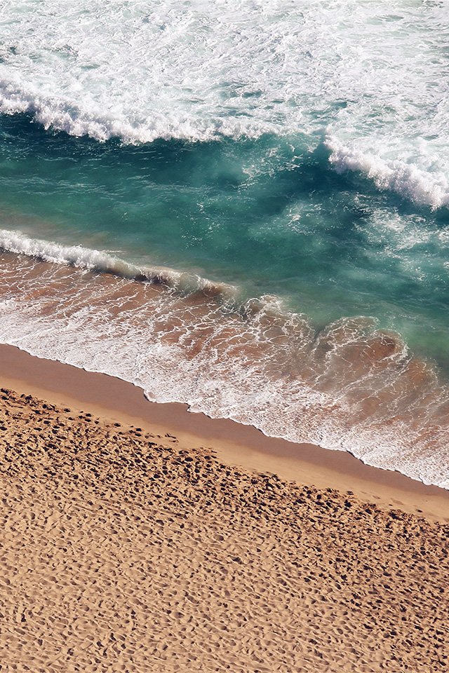 freeios7.com-iphone-4-iphone-5-ios7-wallpaperms15-beach-wave-coast-nature-sea-water-summer-iphone4