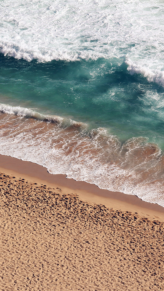 freeios8.com-iphone-4-5-6-plus-ipad-ios8-ms15-beach-wave-coast-nature-sea-water-summer