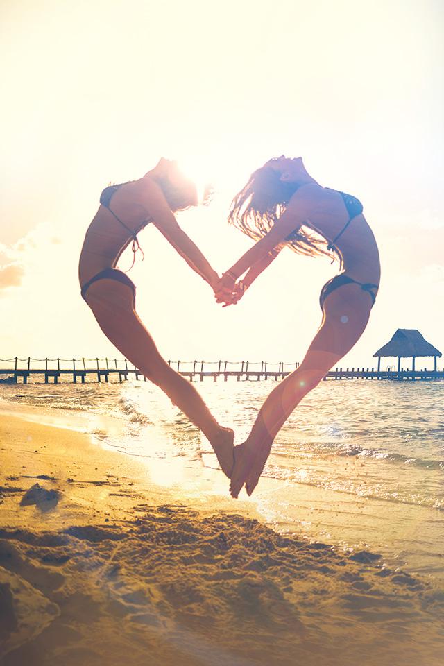 Freeios8 Com Iphone Wallpaper Ms33 Love Beach Sunny Summer