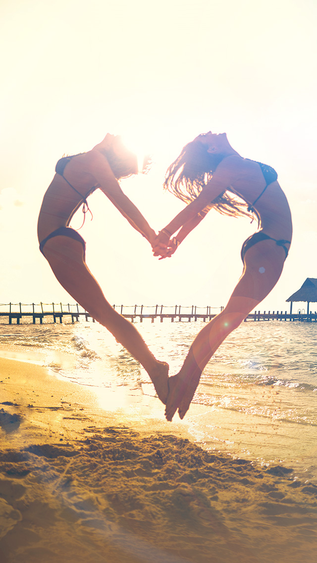 freeios8.com-iphone-4-5-6-plus-ipad-ios8-ms33-love-beach-sunny-summer-happy-sexy-flare