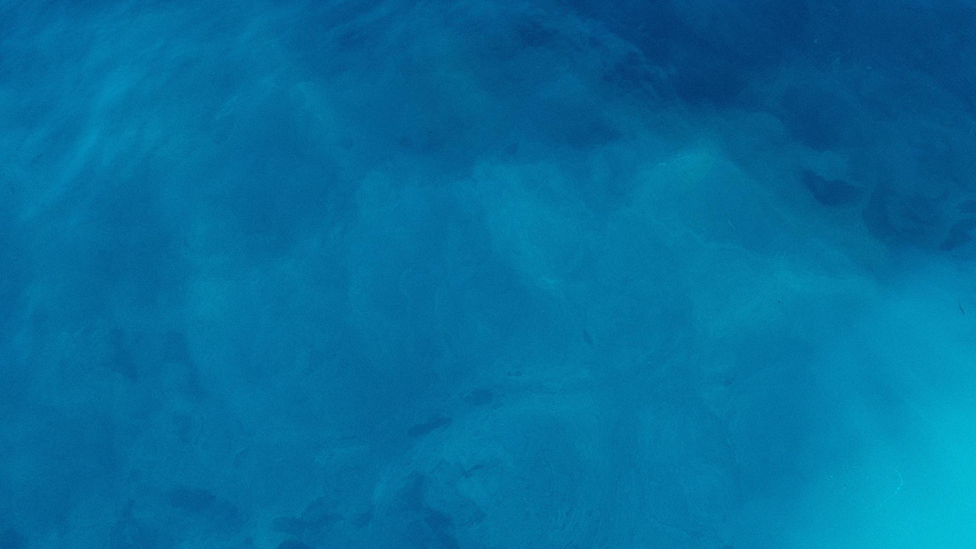 Blue ocean water wallpaper