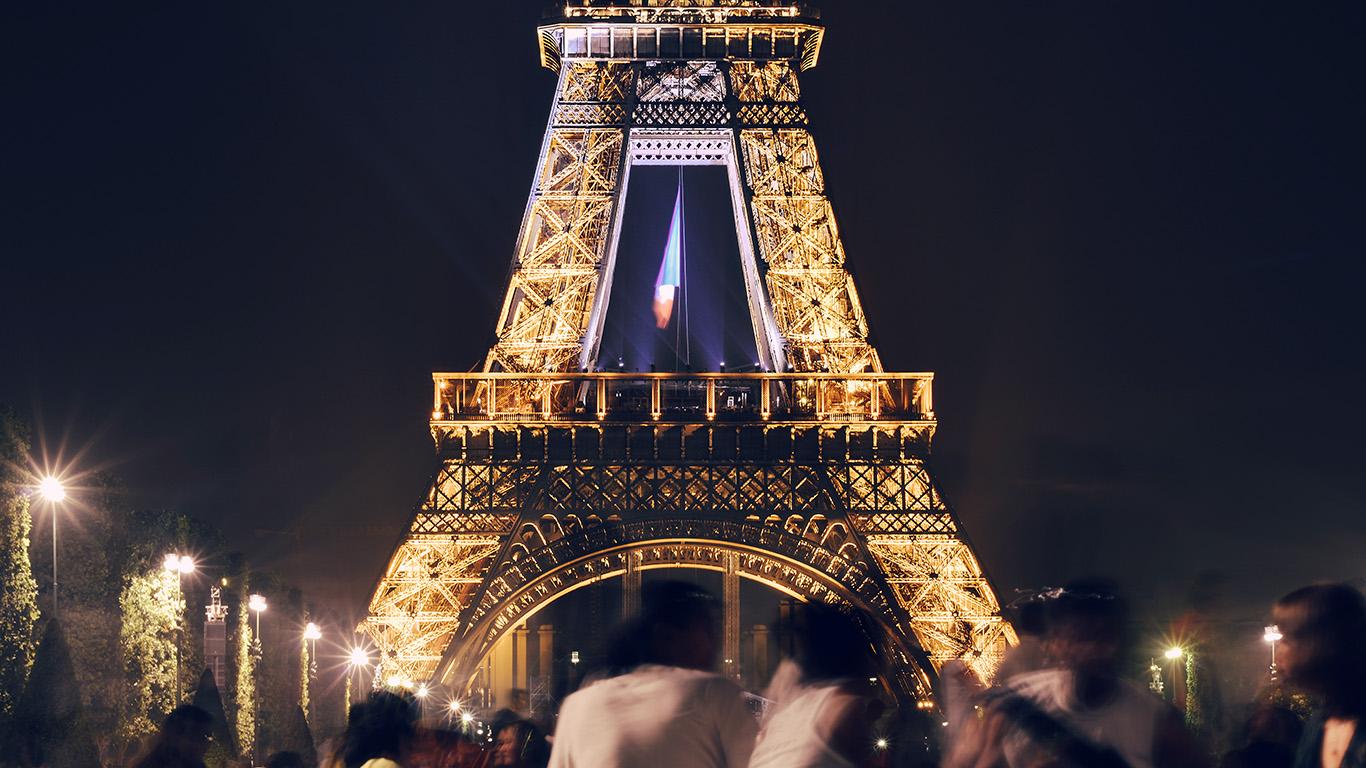 Wallpaper For Desktop Laptop Ms39 Happy Paris Eiffel
