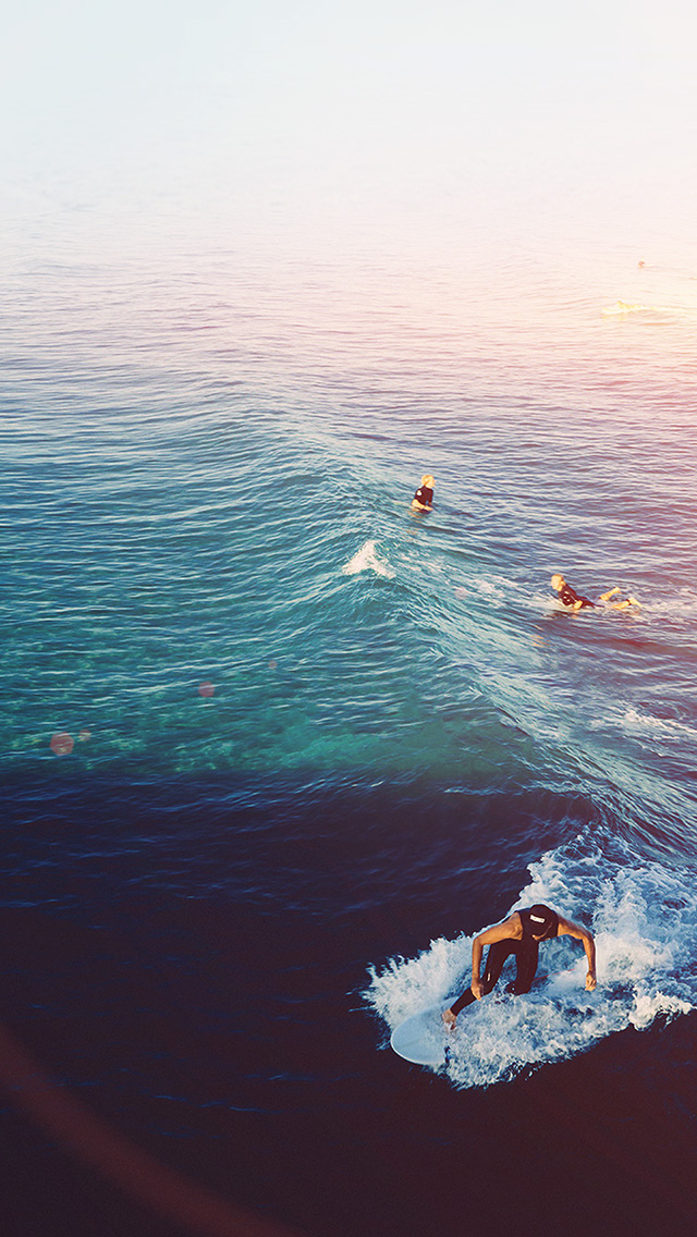 freeios8.com-iphone-4-5-6-plus-ipad-ios8-ms59-surfing-wave-summer-sea-ocean-flare