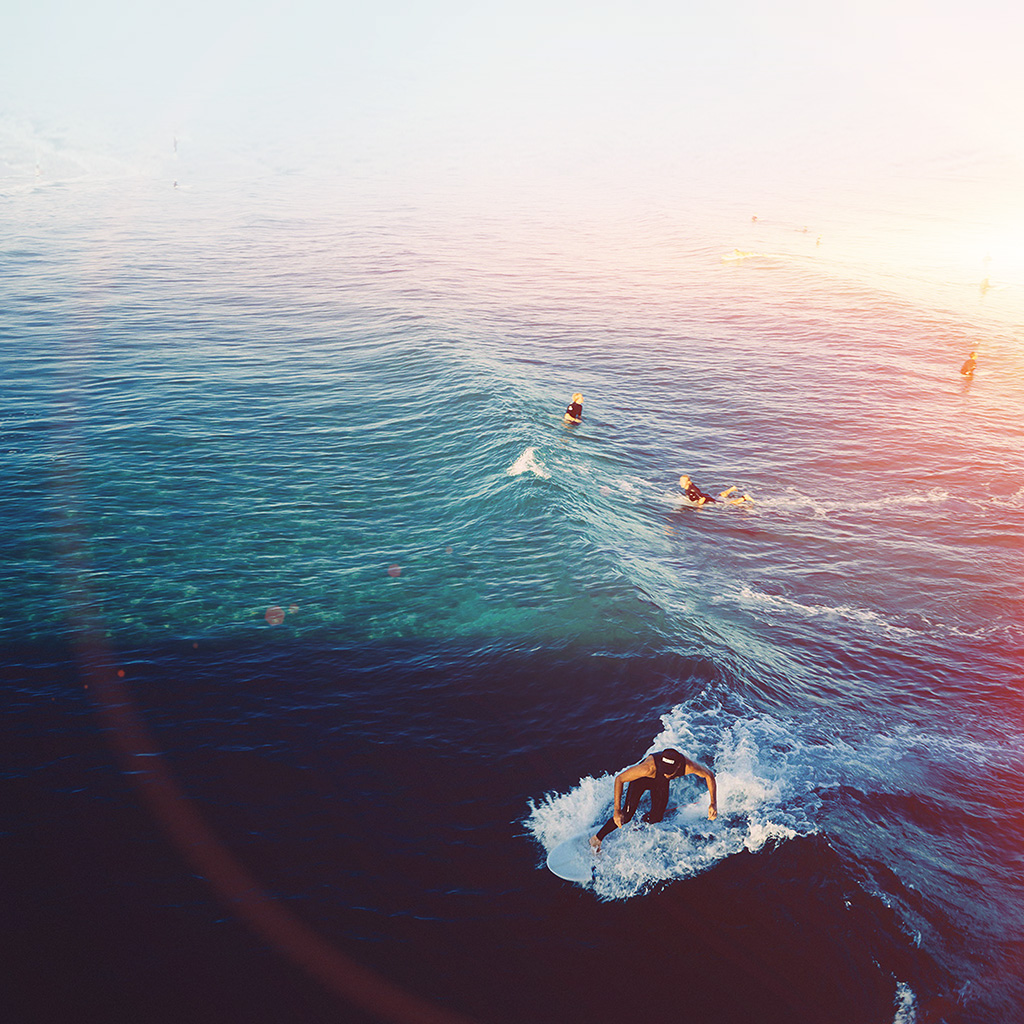 android-wallpaper-ms59-surfing-wave-summer-sea-ocean-flare-wallpaper