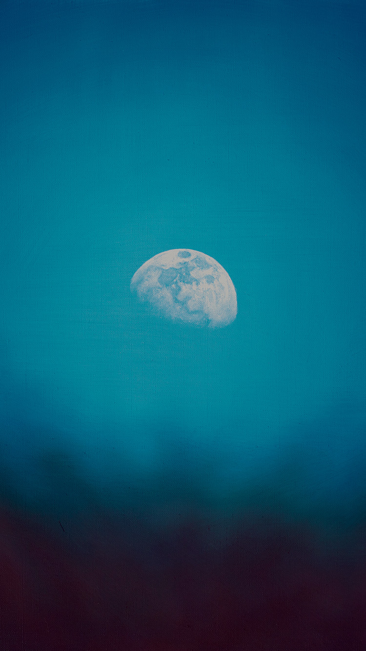 iPhone6papers.co-Apple-iPhone-6-iphone6-plus-wallpaper-mt02-moon-rise-day-nature-blue-dark-night-green