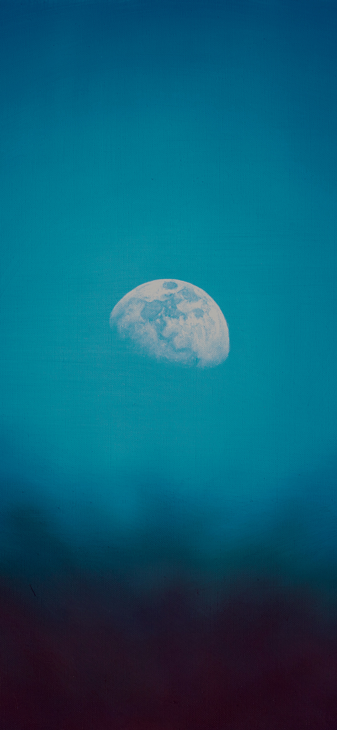iPhoneXpapers.com-Apple-iPhone-wallpaper-mt02-moon-rise-day-nature-blue-dark-night-green