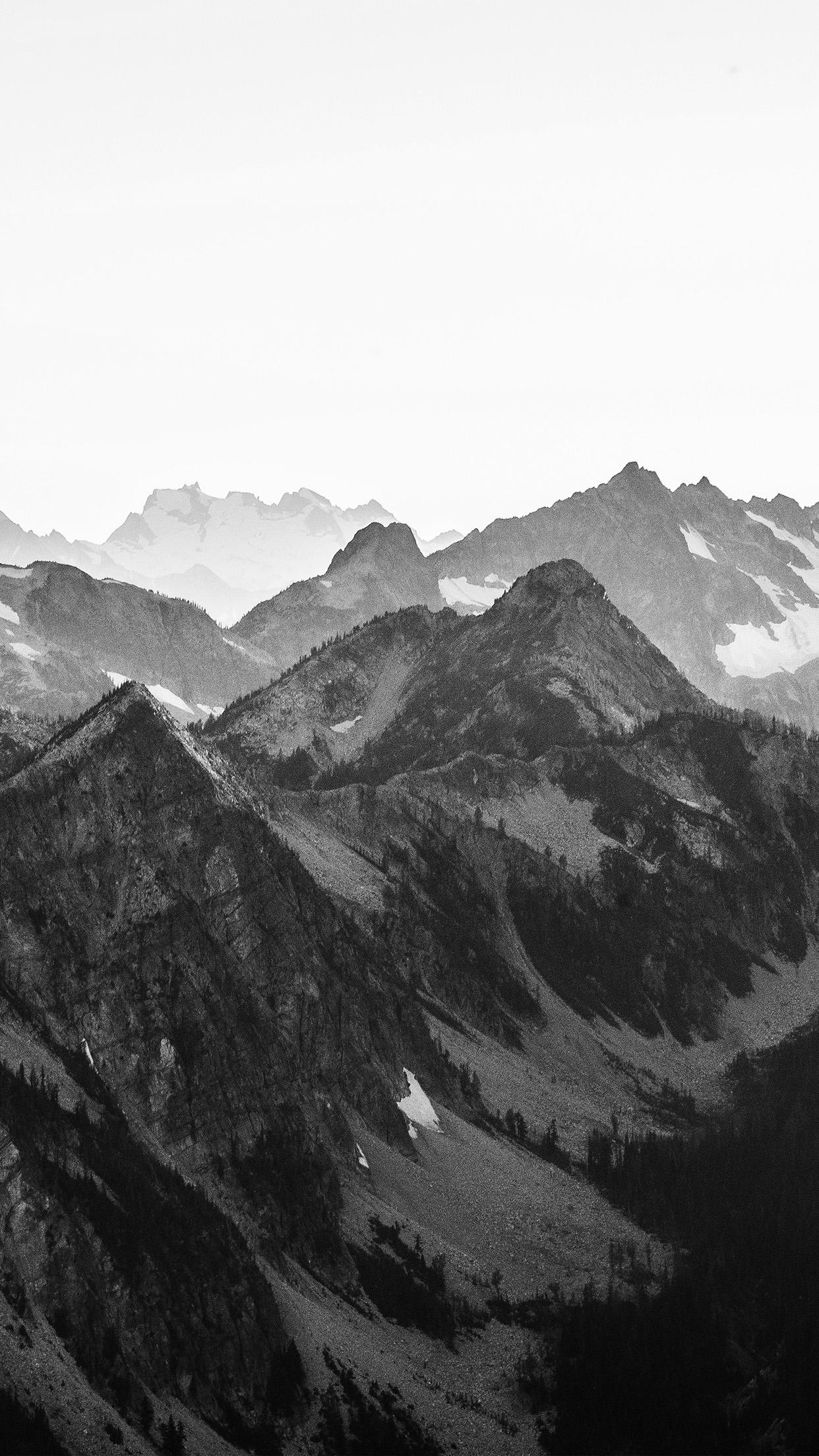 Black Mountain Wallpaper Iphone Hd Wallpaper For Desktop