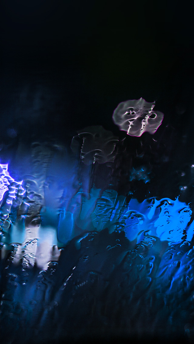 freeios8.com-iphone-4-5-6-plus-ipad-ios8-mt25-raining-window-bokeh-blue-light