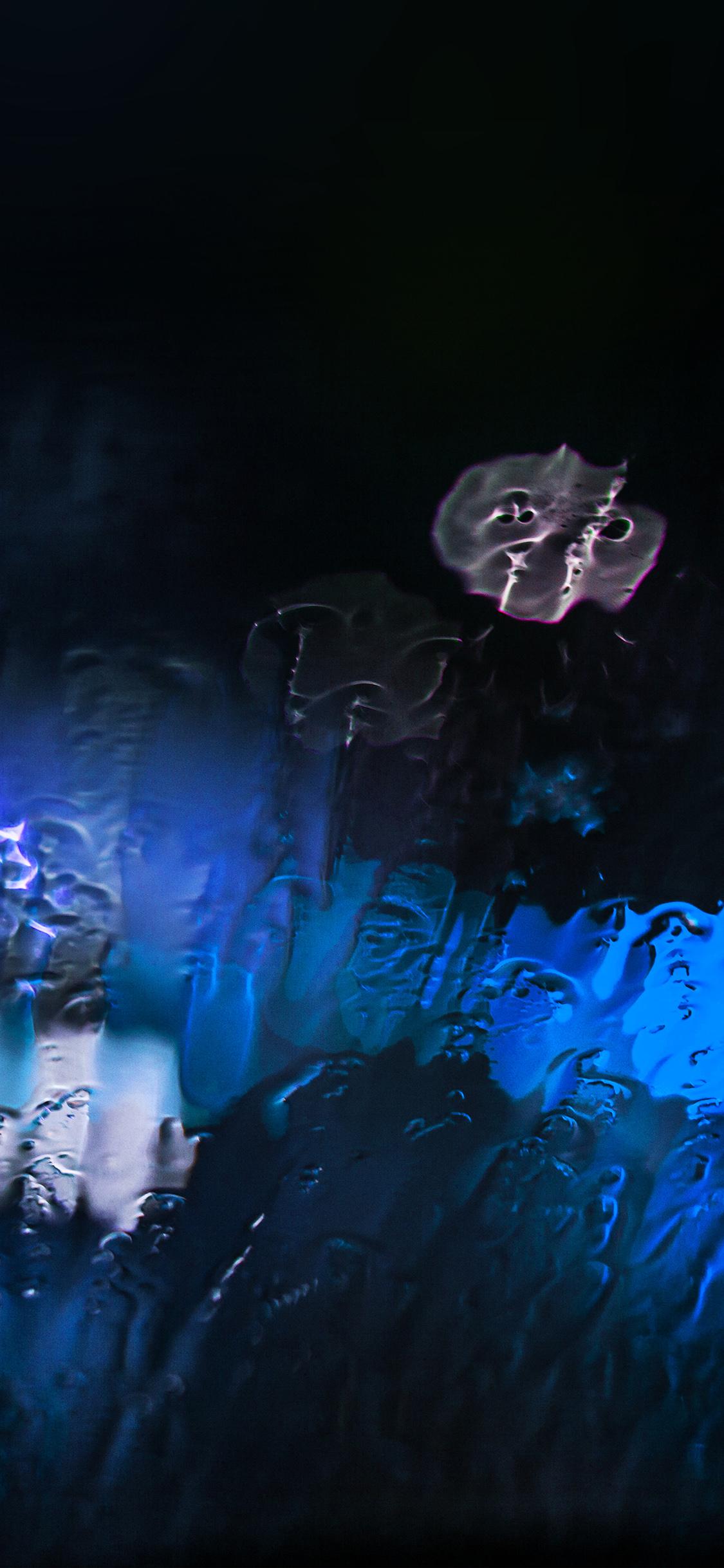 iPhoneXpapers.com-Apple-iPhone-wallpaper-mt25-raining-window-bokeh-blue-light