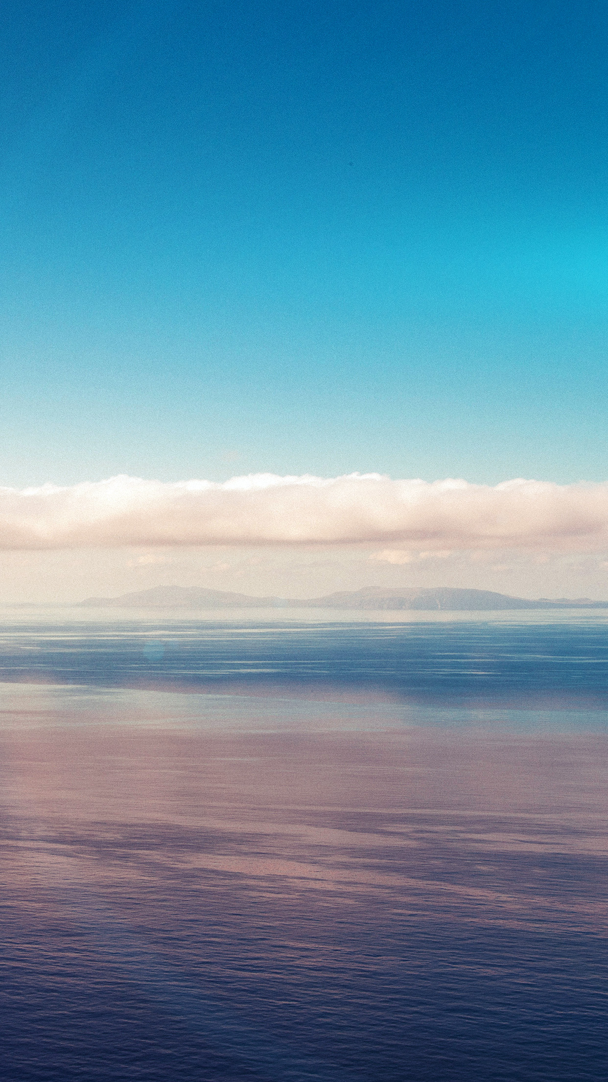 Iphonexpapers Com Iphone X Wallpaper Mt27 Blue Sky Nature Ocean View Flare