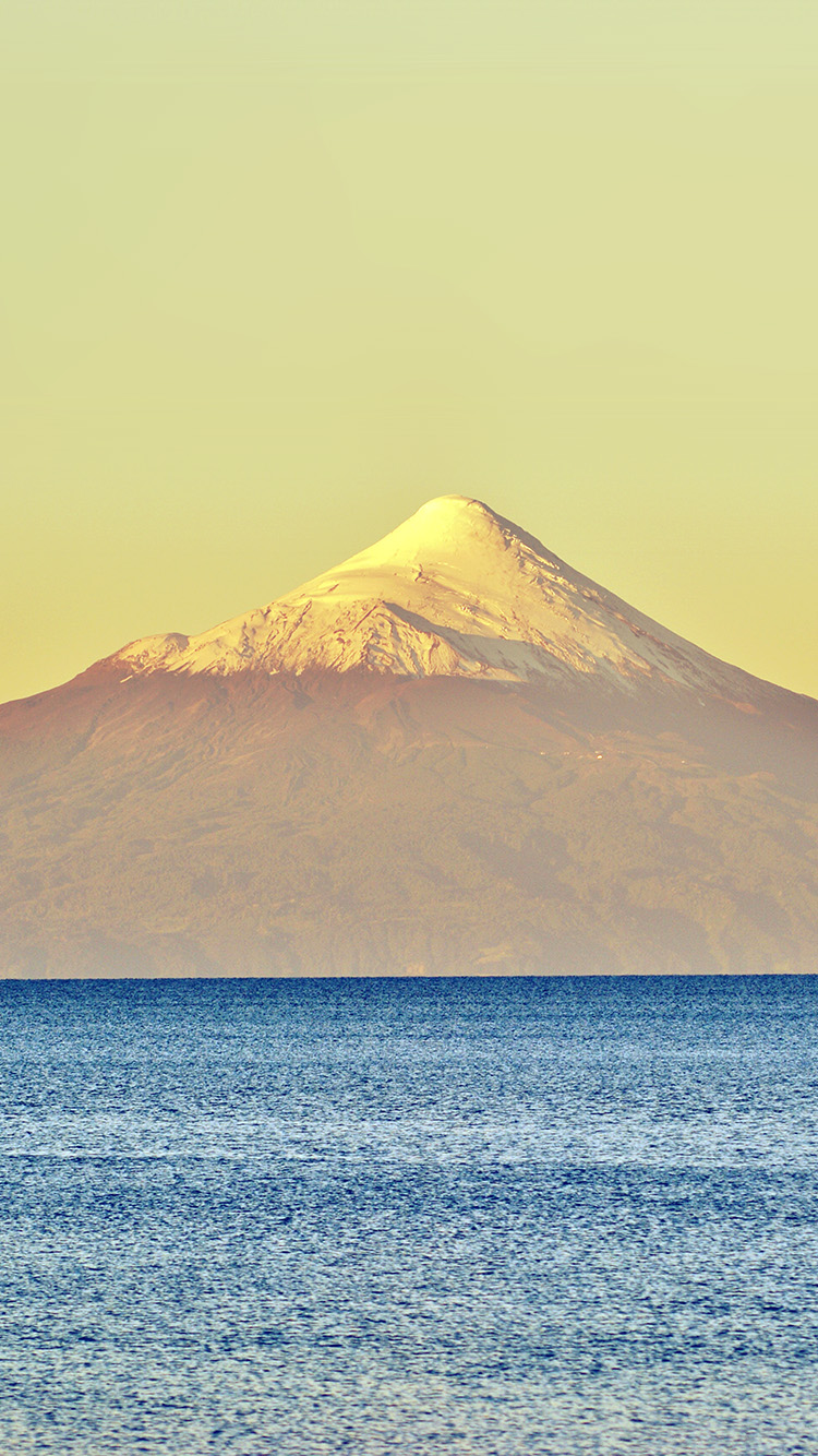 Papers.co-iPhone5-iphone6-plus-wallpaper-mt30-snow-mountain-yellow-blue-sea