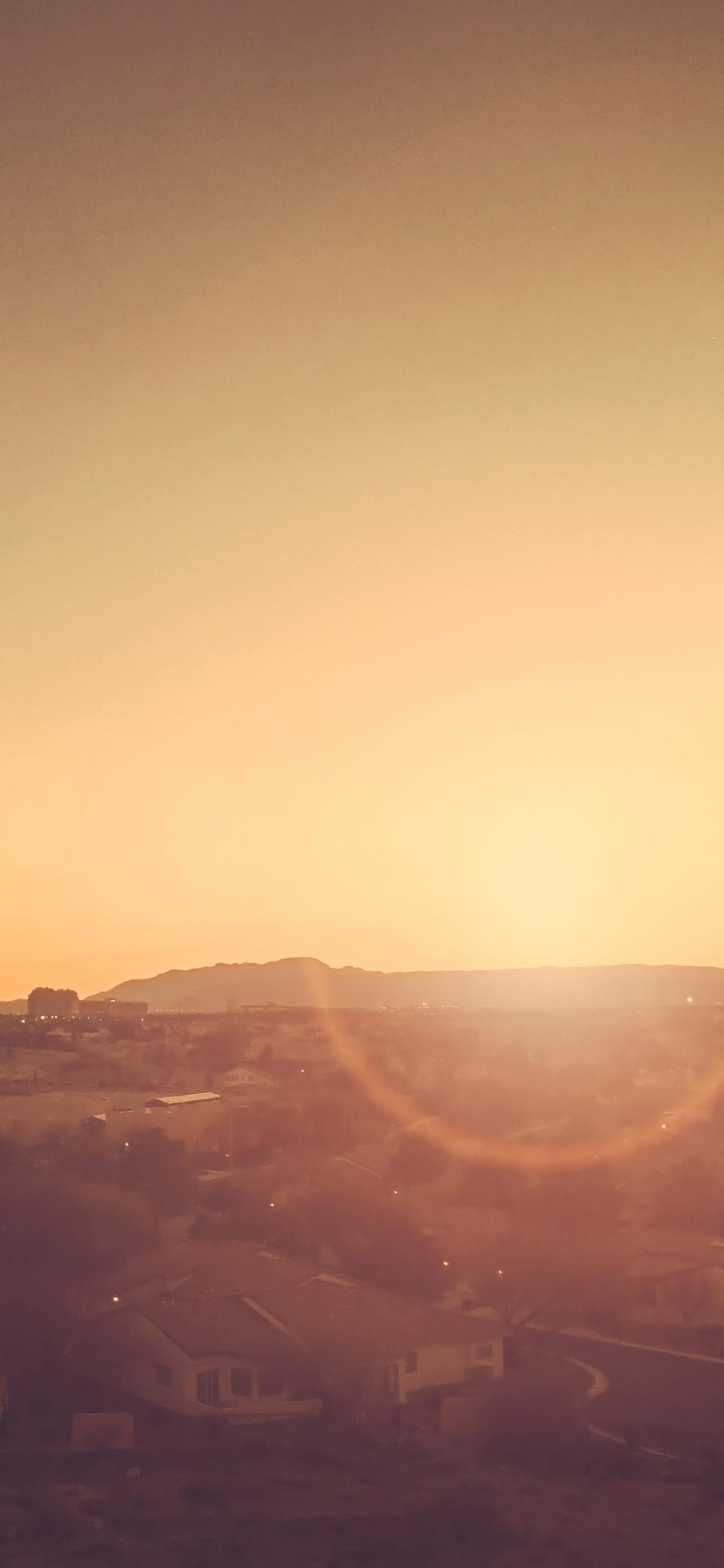 iPhoneXpapers.com-Apple-iPhone-wallpaper-mt36-city-sunset-bokeh-light-town-sky