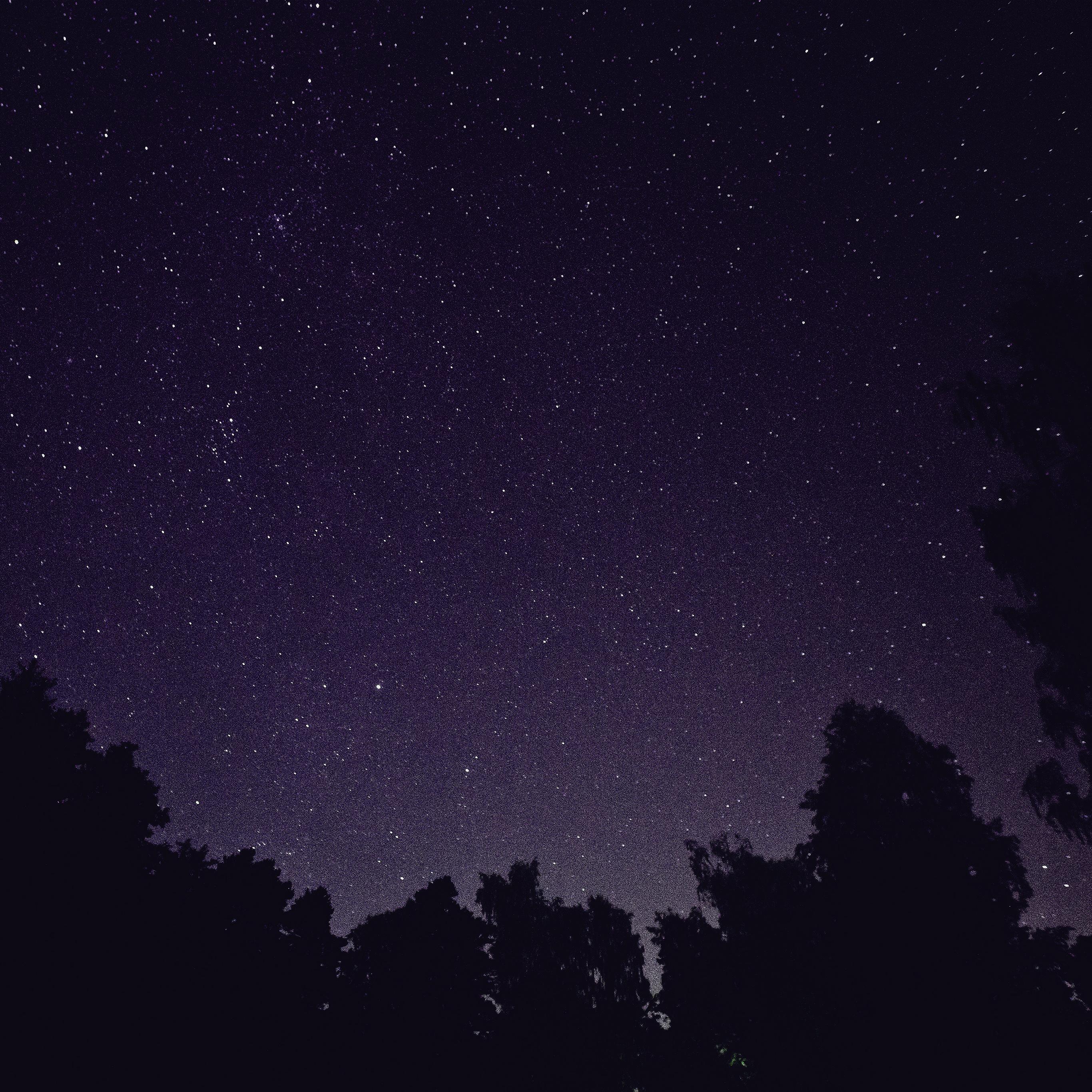 papers.co mt41 starry night sky star galaxy space dark purple 40 wallpaper