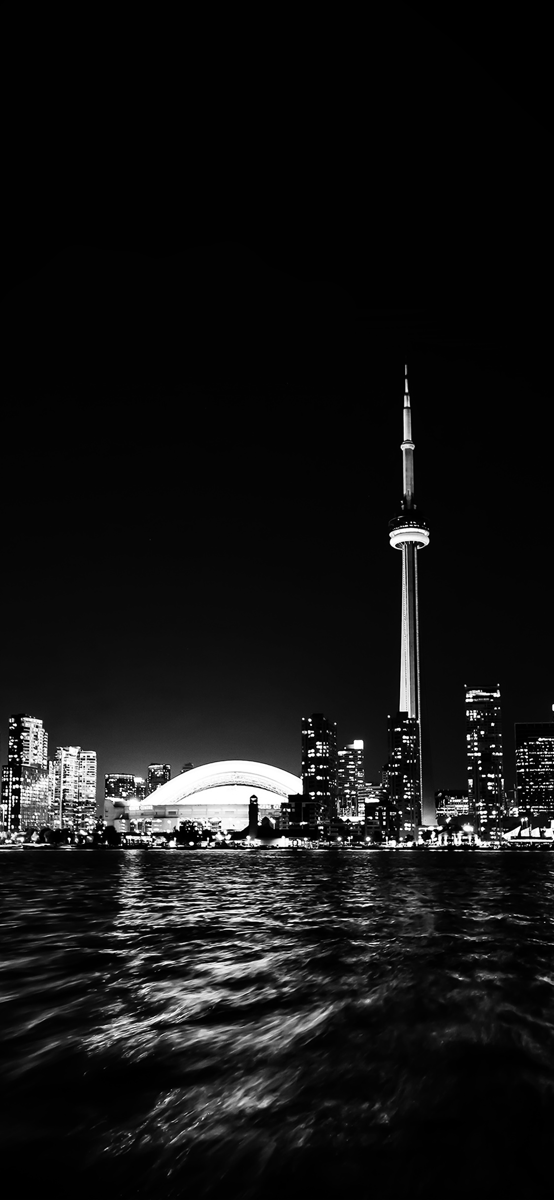 iPhonexpapers.com-Apple-iPhone-wallpaper-mt45-toronto-city-night-missing-tower-dark-cityview-bw