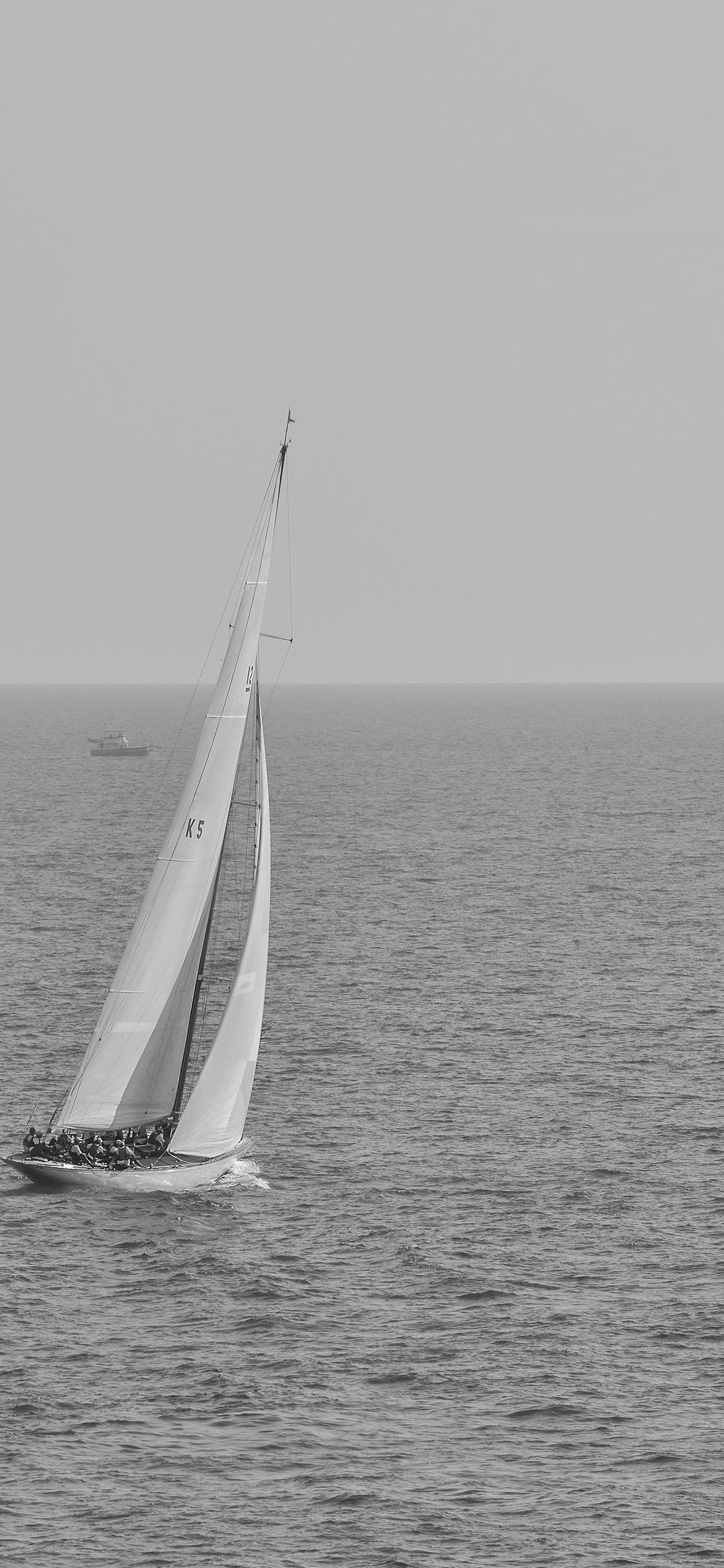 iPhoneXpapers.com-Apple-iPhone-wallpaper-mt62-boat-dark-bw-sea-ocean-nature