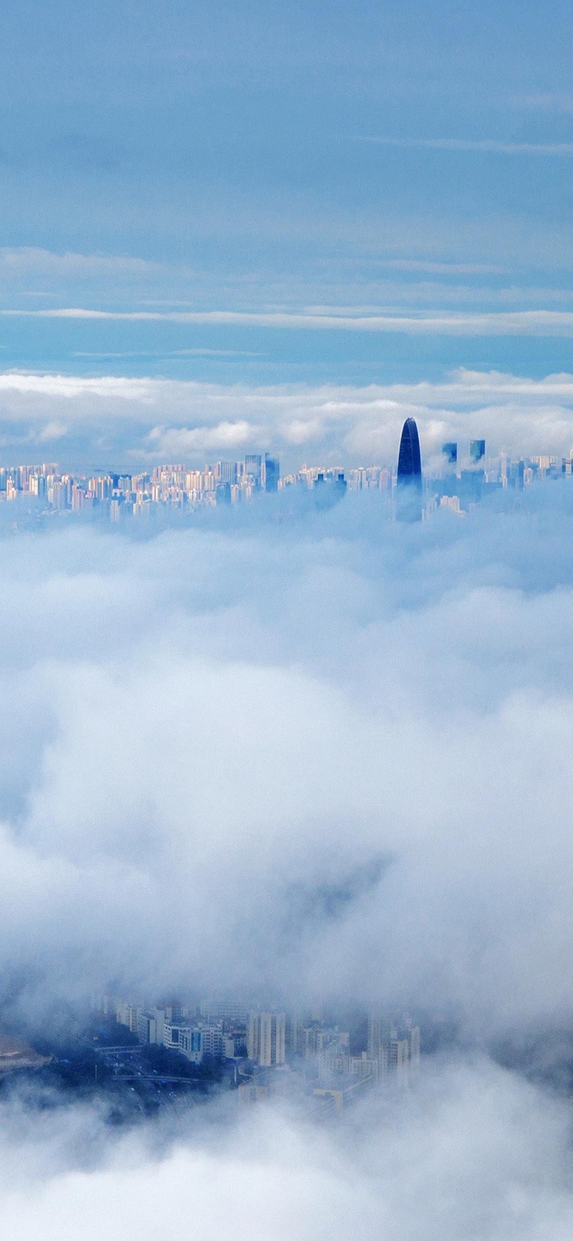iPhoneXpapers.com-Apple-iPhone-wallpaper-mt73-city-in-fog-cloud-nature-sky