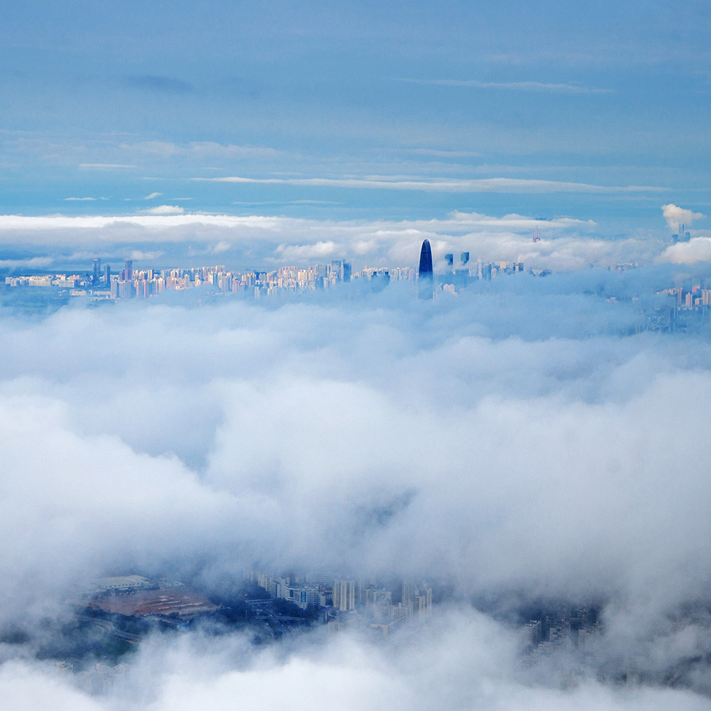android-wallpaper-mt73-city-in-fog-cloud-nature-sky-wallpaper