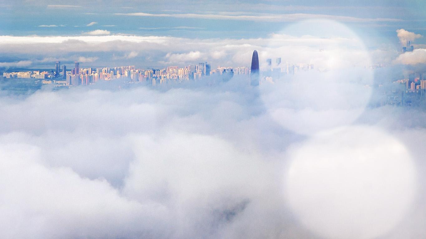 desktop-wallpaper-laptop-mac-macbook-air-mt74-city-in-fog-cloud-nature-sky-flare-bokeh-wallpaper