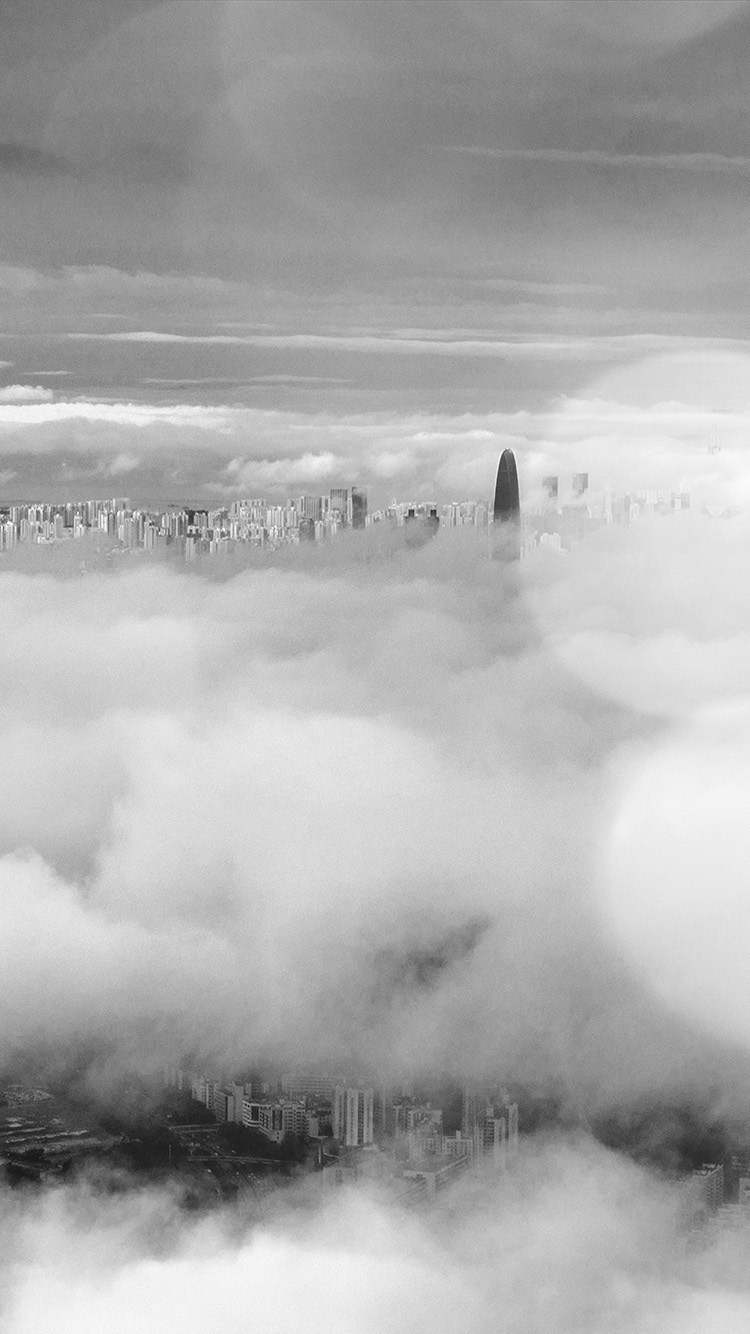 iPhone6papers.co-Apple-iPhone-6-iphone6-plus-wallpaper-mt75-city-in-fog-cloud-nature-sky-flare-dark-bw