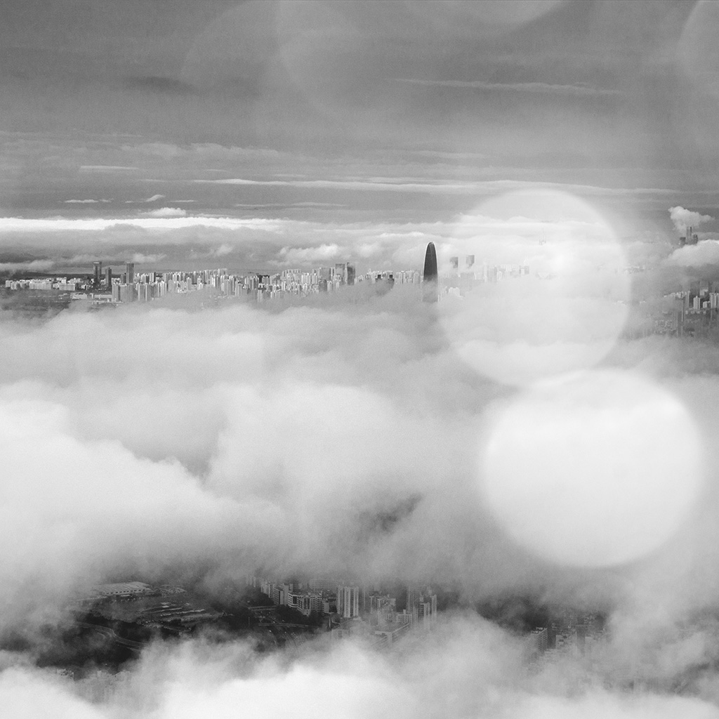 wallpaper-mt75-city-in-fog-cloud-nature-sky-flare-dark-bw-wallpaper
