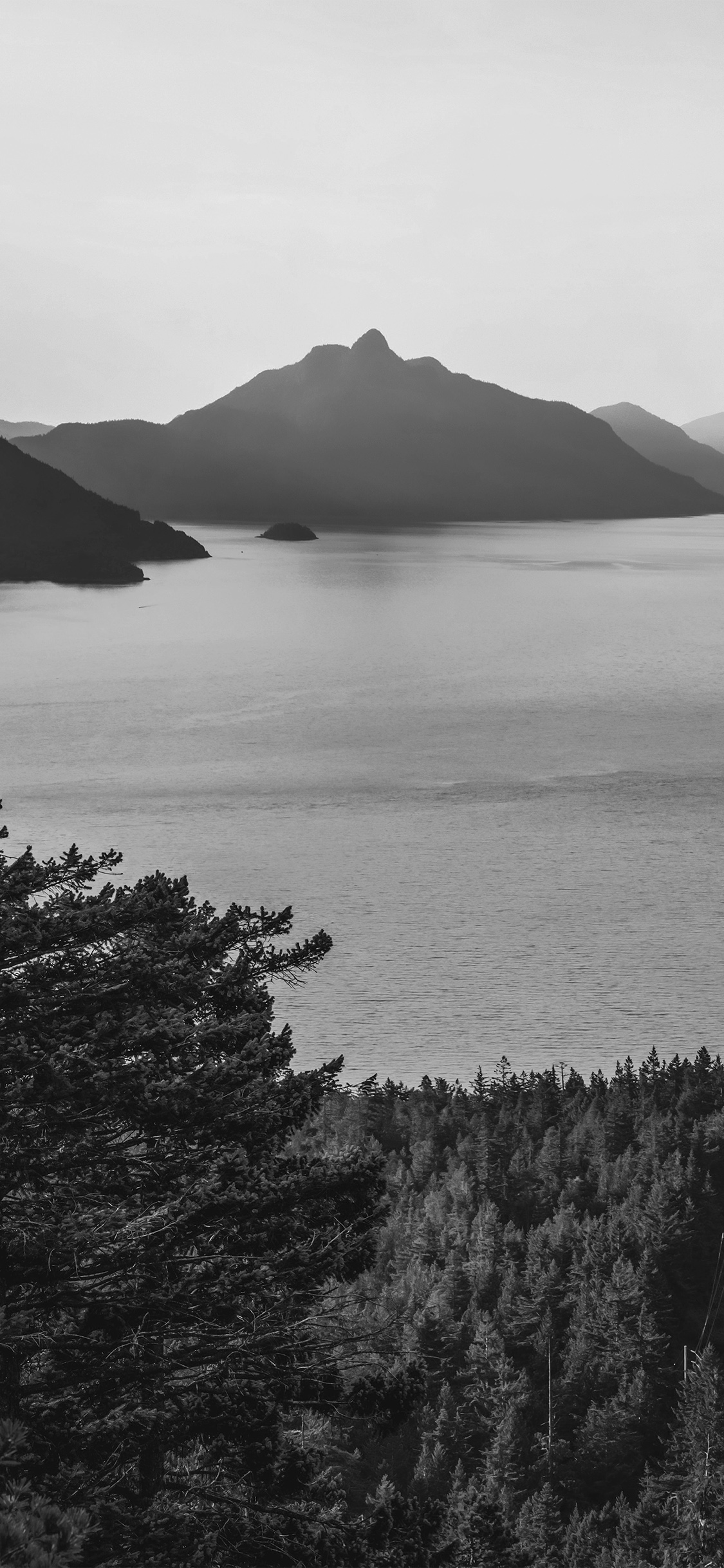 iPhonexpapers.com-Apple-iPhone-wallpaper-mt75-lake-green-nature-wonderful-blue-summer-day-mountain-bw