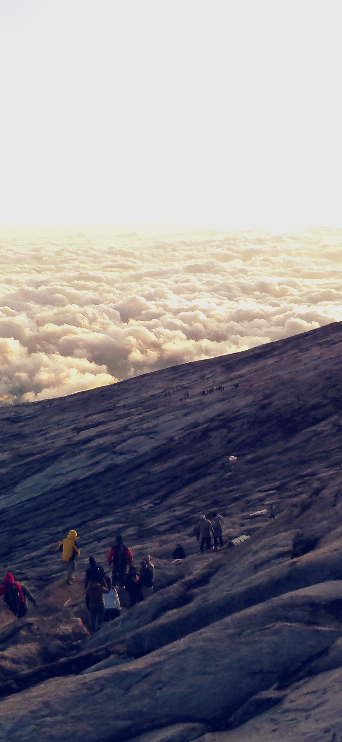 iPhonexpapers.com-Apple-iPhone-wallpaper-mt77-mountain-sky-sunny-day-cloud-climbing-shiny