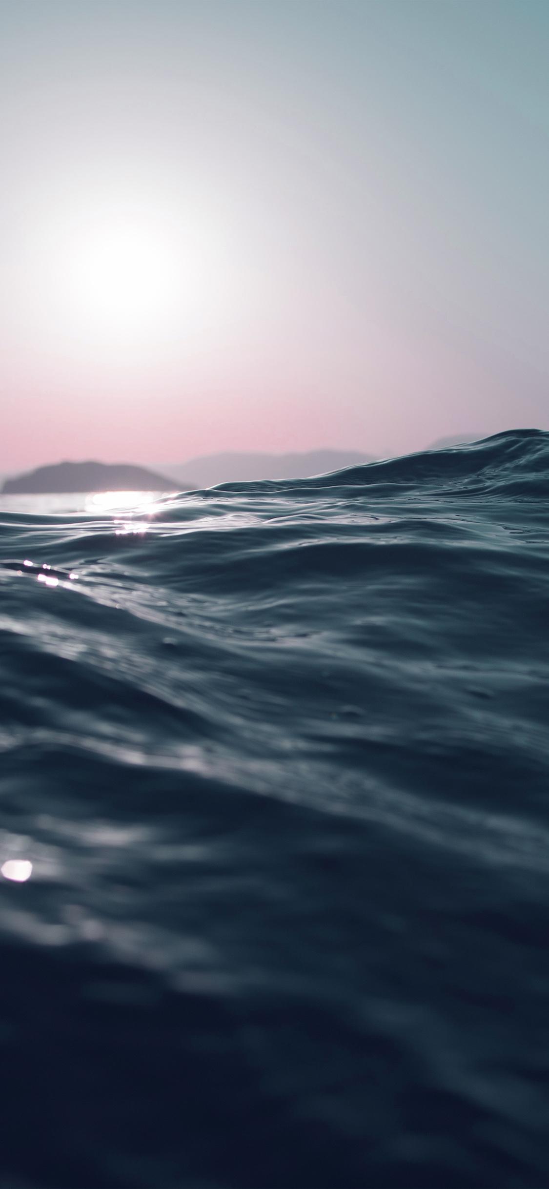 Iphone11papers Com Iphone11 Wallpaper Mt83 Sea Dive Wave Dark Summer Ocean Nature Blue