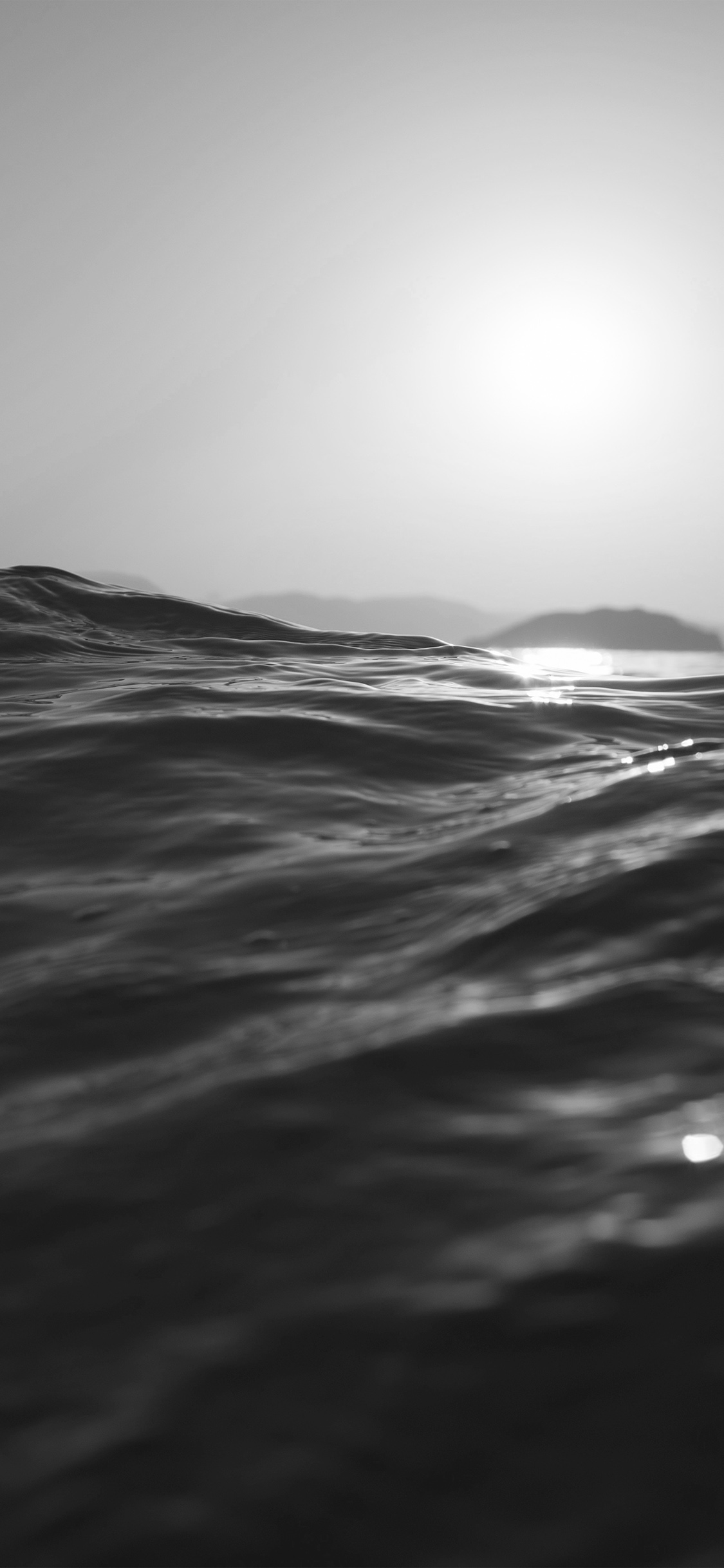iPhoneXpapers.com-Apple-iPhone-wallpaper-mt84-sea-dive-wave-dark-summer-ocean-nature-bw
